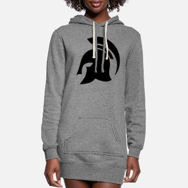 Helmet helmet - Women's Hoodie Dress