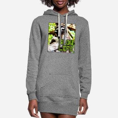 Slow Slow Life - Women's Hoodie Dress