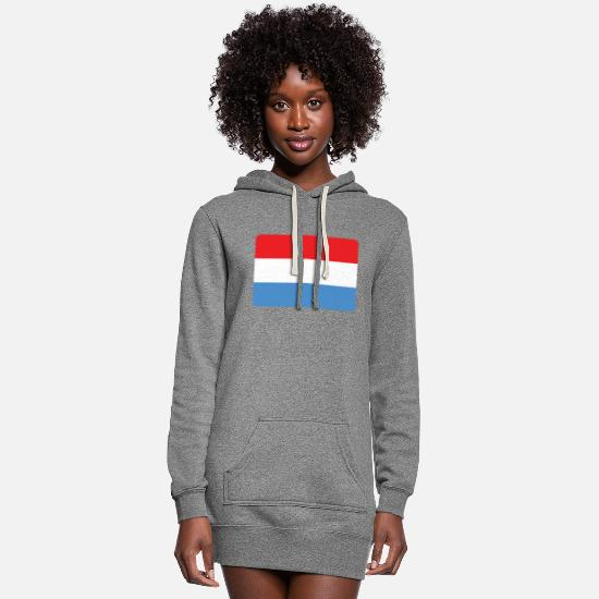 Holland Hoodies & Sweatshirts - THE NETHERLANDS ARE THE NO 1 - Women's Hoodie Dress heather gray