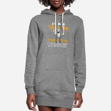 Ghost I'm In A Relationship With Ghost Hunting It's Not - Women's Hoodie Dress