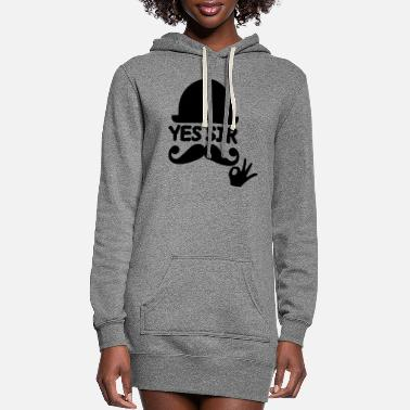 Sir sir - Women's Hoodie Dress