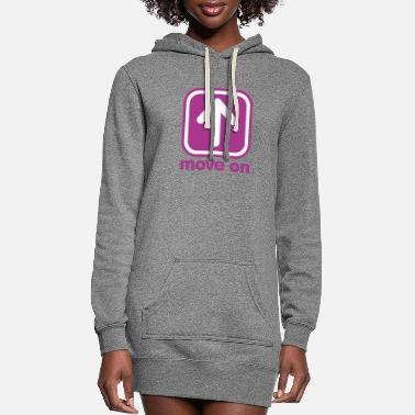 Move MOVE ON MOVE ON - Women's Hoodie Dress