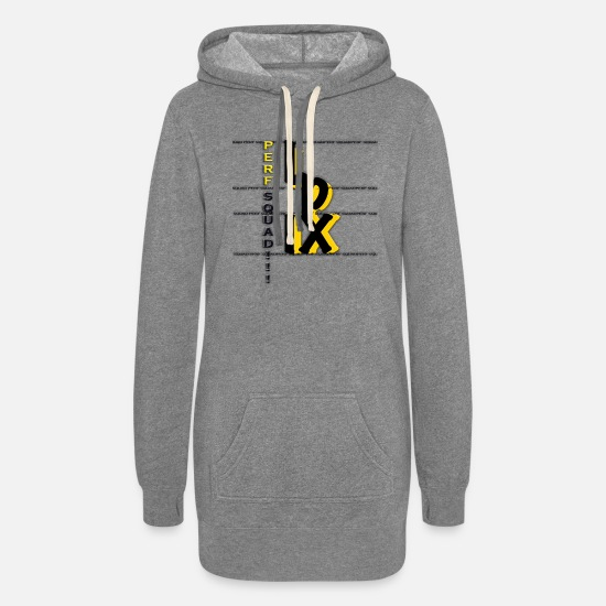 Collection Hoodies & Sweatshirts - pfive Collection - Women's Hoodie Dress heather gray