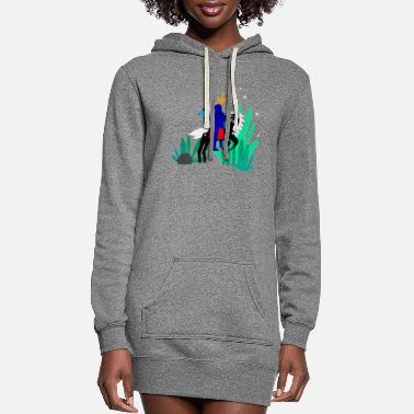 Illustration illustration - Women's Hoodie Dress