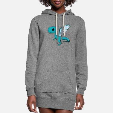 Fly Fly Dino Fly - Women's Hoodie Dress