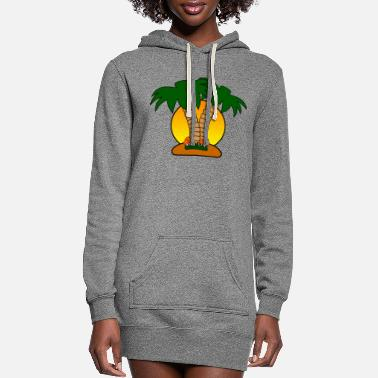 Island island - Women's Hoodie Dress
