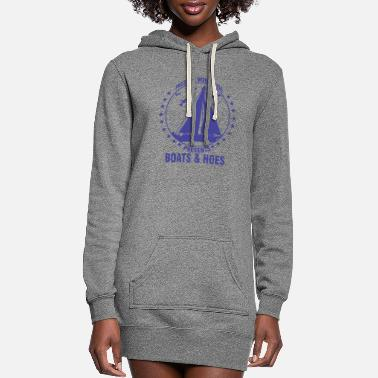 Boat boating, boat, boat captain, boats and hoes, boats - Women's Hoodie Dress