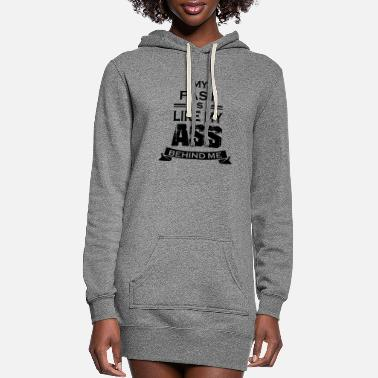 Paste The Past - Women's Hoodie Dress