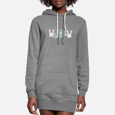 Happy Easter Happy Easter Gift - Women's Hoodie Dress
