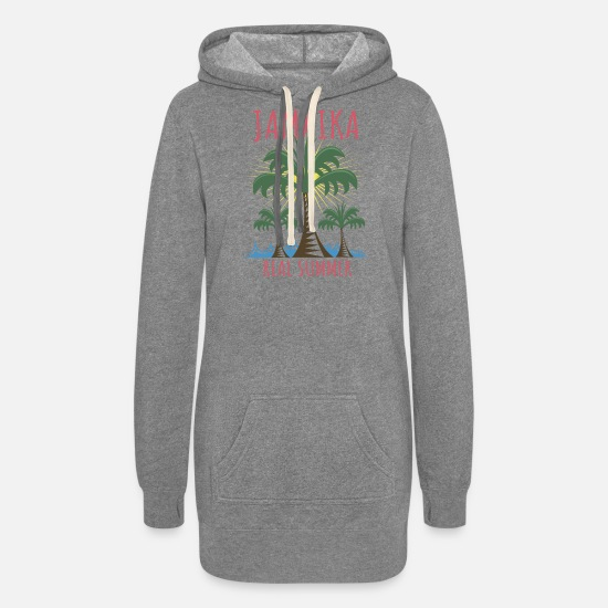 Birthday Hoodies & Sweatshirts - Jamaika real Summer - Women's Hoodie Dress heather gray