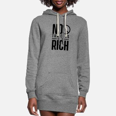 Wealth Tax The Rich - Women's Hoodie Dress