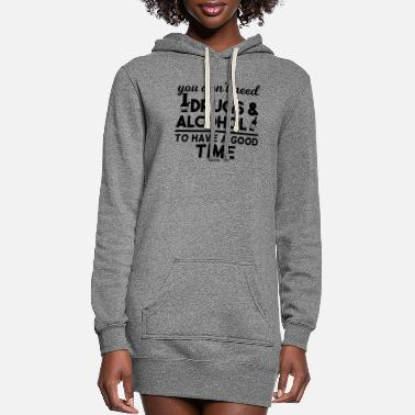 Noise alcohol - Women's Hoodie Dress