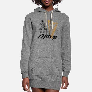Coaching coolest people on earth play the harp - Women's Hoodie Dress