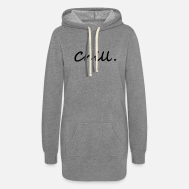 Chill Out chill. chill out - Women's Hoodie Dress