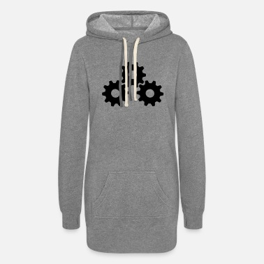 Gear Gear Wheels - Women's Hoodie Dress