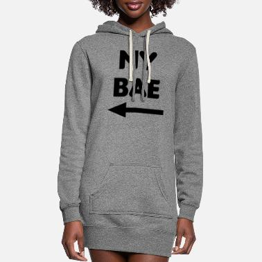 Matching Couples My Bae Matching Couples - Women's Hoodie Dress