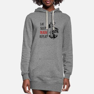 Pain GYM - Women's Hoodie Dress