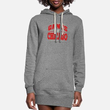 Underground Chicago - Gangs Of Chicago Illinois Underground Ci - Women's Hoodie Dress