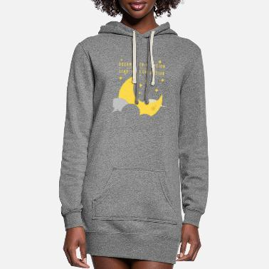 Dream With Ambition and Lead With Conviction - Women's Hoodie Dress