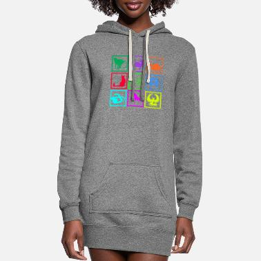 Series series - Women's Hoodie Dress