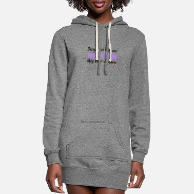 Sayings Cool Saying, Sayings, Funny Saying - Women's Hoodie Dress
