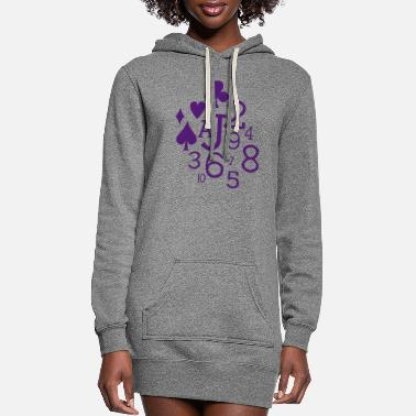 Cards Cards - Women's Hoodie Dress