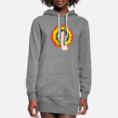 Strike Strike - Women's Hoodie Dress