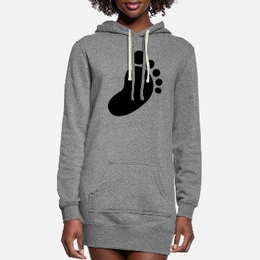 Foot foot - Women's Hoodie Dress
