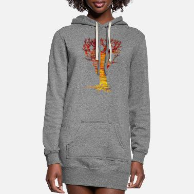 Tree The Tree of Trees - Women's Hoodie Dress