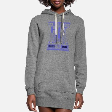Hits HIT HIT 121.png - Women's Hoodie Dress