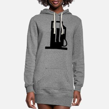 Gas gas - Women's Hoodie Dress