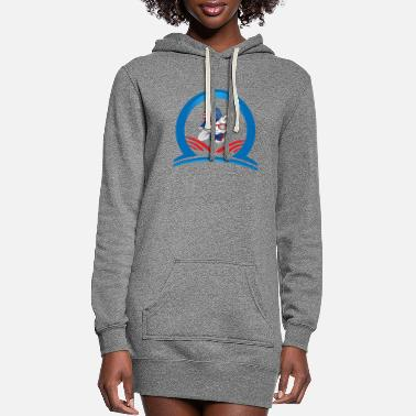 Stylish Stylish cat - Women's Hoodie Dress