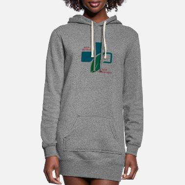 Gallop At A Gallop - Women's Hoodie Dress