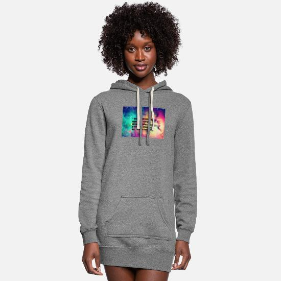 Quote Hoodies & Sweatshirts - quote - Women's Hoodie Dress heather gray