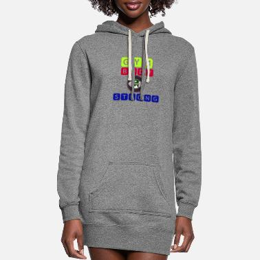Original Gym Body string - Women's Hoodie Dress