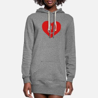 Birth power of love v1 - Women's Hoodie Dress