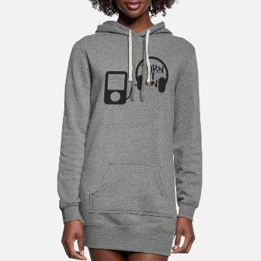 Turn turn down for what turn it on - Women's Hoodie Dress