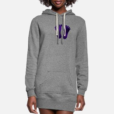 Feet FEET - Women's Hoodie Dress