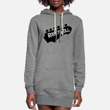 Rock 'n' Roll Rockn Roll - Women's Hoodie Dress