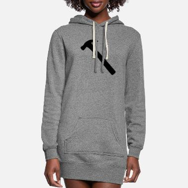 Hammer hammer - Women's Hoodie Dress