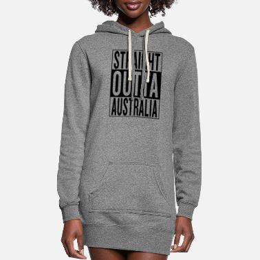 Home Town Land Country State Australia - Women's Hoodie Dress