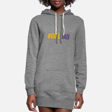 Girl Girl Dad T Shirtgirl Dad Shirt Kobe Bryant Shirt - Women's Hoodie Dress