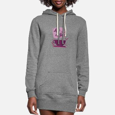 Life is better with coffee - Women's Hoodie Dress