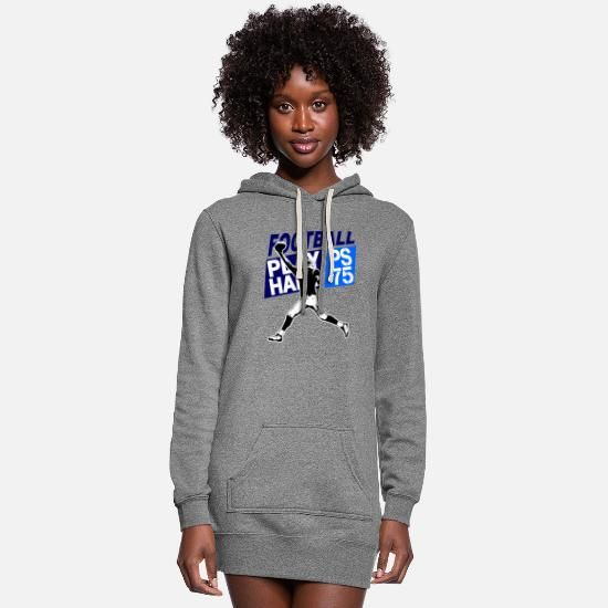 American Football Hoodies & Sweatshirts - American Football - Women's Hoodie Dress heather gray