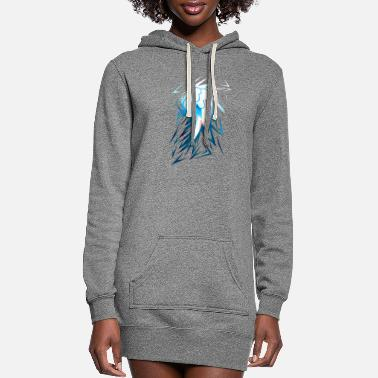 Dash Shards of Rainbow Dash's Cutiemark - Women's Hoodie Dress