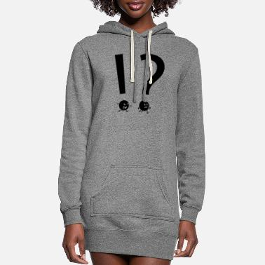 What WHAT THE - WHAT THE - Women's Hoodie Dress