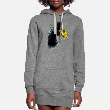 Stinger the butterflies and the gloves of stingers - Women's Hoodie Dress