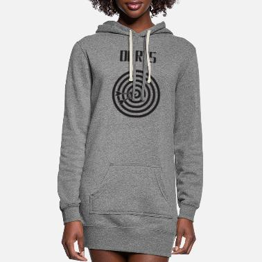 Arrow dartboard with arrows - Women's Hoodie Dress