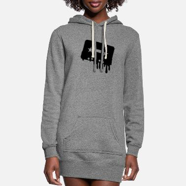 Tape Tape - Women's Hoodie Dress