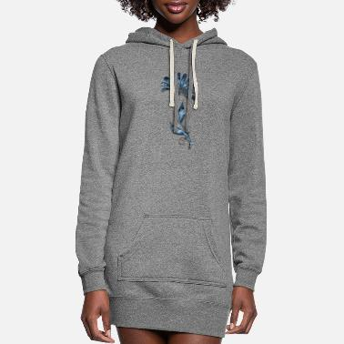 Decoration Decor - Women's Hoodie Dress